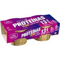 Flan rico en proteinas REINA, pack 2x160 g