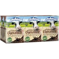 Batido de chocolate ASTURIANA, pack 6x 200 ml