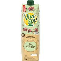 Zumo de té verde-soja VIVESOY, brik 1 litro