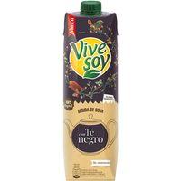 Zumo de té negro-soja VIVESOY, brik 1 litro