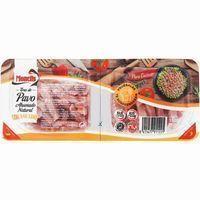 Tiras braseadas de jamón de pavo MONELLS, pack 2x75 g