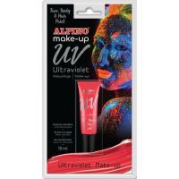 Maquillaje ultravioleta rojo ALPINO, Tubo 10 ml