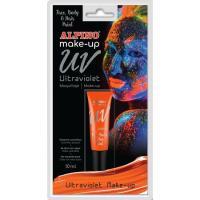 Maquillaje ultravioleta naranja oscuro ALPINO, Tubo 10 ml