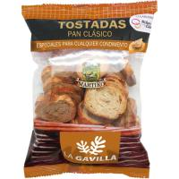 Pan tostado clásico LA GAVILLA, paquete 100 g