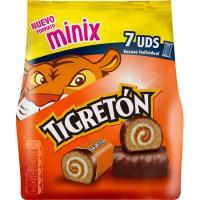 Minix tigretón BIMBO, 7 uds., paquete 171 g