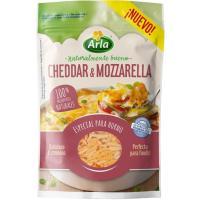 Queso rallado Cheddar-Mozzarella ARLA Finello, bolsa 150 g