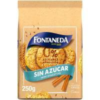 Galletas cuidate mini FONTANEDA, bolsa 250 g