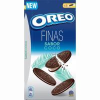 Galletas finas de coco OREO, caja 192 g