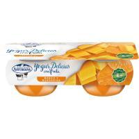 Yogur bicapa mango mandarina ASTURIANA, pack 2x125 g