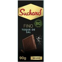 Chocolate bio al toque de sal SUCHARD, tableta 90 g