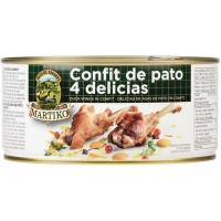 Delicias de alas de pato confitadas MARTIKO, 4 uds., lata 800 g