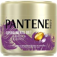 Mascarilla superalimento BB7 PANTENE, tarro 300 ml