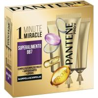 Ampollas superalimento BB7 PANTENE, pack 3 unid.
