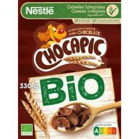 Cereales bio NESTLÉ Chocapic, caja 330 g