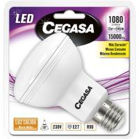 Bombilla Led reflectora R90 E27 13W luz cálida (2700k)CEGASA, 1 ud