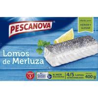 Lomos de merluza PESCANOVA, caja 400 g