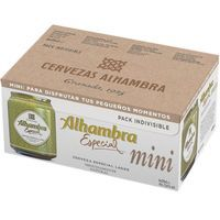 Cerveza especial ALHAMBRA, pack 6x25 cl