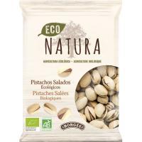 Pistachos tostados Eco Natura BORGES, bolsa 100 g