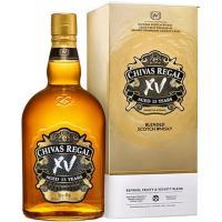 Whisky XV CHIVAS, botella 70 cl