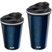 Vaso térmico Blue inoxidable doble pared IBILI, 400ml