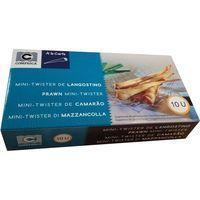 Mini Twister de langostino COMPESCA, caja 90 g