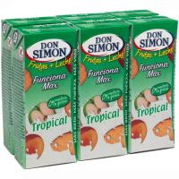Lactozumo Tropical DON SIMON, pack 6x200 ml
