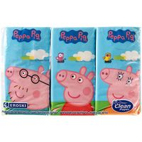 Pañuelos Peppa Pig EROSKI, paquete 6 unid.