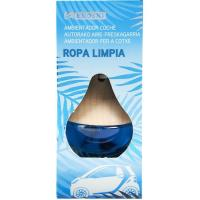 Ambientador coche ropa limpia EROSKI, pack 1 ud.
