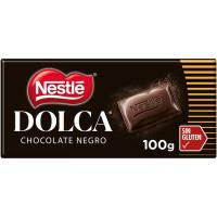 Chocolate negro DOLCA, tableta 100 g