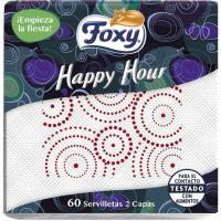 Servilleta Happy Hour FOXY, paquete 60 uds.