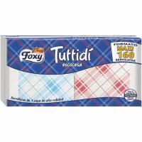 Servilleta escocesa Tuttidi FOXY, paquete 160 unid.