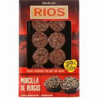 Rodajas de morcilla de Burgos RIOS, bandeja 220 g