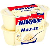Mousse Milkybar NESTLÉ, pack 4x55 g