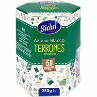 Azúcar blanco en terrones SIDUL, pack 50x5 g