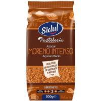 Azúcar moreno intenso SIDUL, paquete 500 g