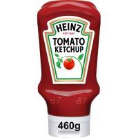 Ketchup HEINZ, bocabajo 460 g