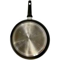 Sartén de aluminio forjado, apto para todo tipo de cocinas, EROSKI, Ø30cm