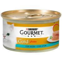 Alimento de atún gato fondant GOURMET Gold, lata 85 g