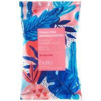 Toallitas refrescantes formato bolsillo belle, paquete 10 uds.