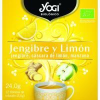 Té de jengibre-limón YOGI, caja 24 g