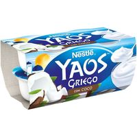 Yogur griego de coco NESTLÉ, pack 4x110 g