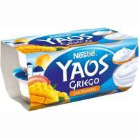 Yogur griego de mango NESTLÉ, pack 4x110 g