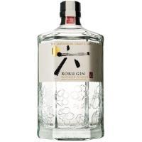 Ginebra japonesa ROKU, botella 70 cl