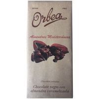 Chocolate con almendra caramelizada ORBEA, tableta 125 g