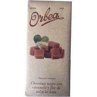 Chocolate con caramelo-sal ORBEA, tableta 125 g