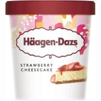 Helado de Strawberry Cheesecake HAAGEN DAZS, tarrina 400 g