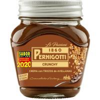 Crema crunchy de avellana PERNIGOTTI, frasco 350 g