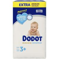 Pañal 7-11 kg Talla 3 Extra DODOT Sensitive, paquete 60 uds