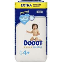Pañal 10-15 kg Talla 4 Extra DODOT Sensitive, paquete 52 uds.