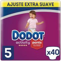Pants 12-17 kg Talla 5 Extra DODOT Activity, paquete 40 uds